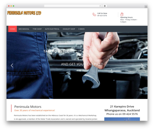 Carshire WP template - peninsulamotors.com