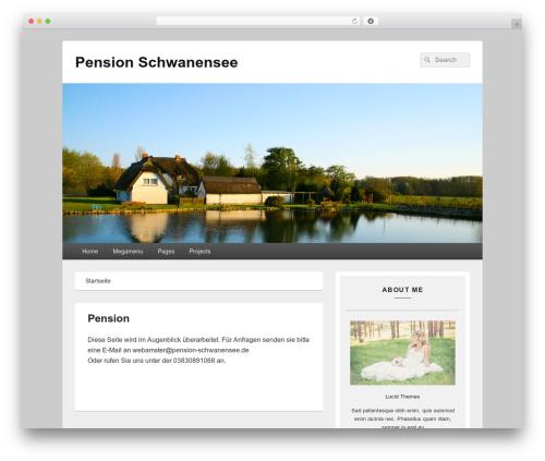 Catch Box template WordPress free - pension-schwanensee.de