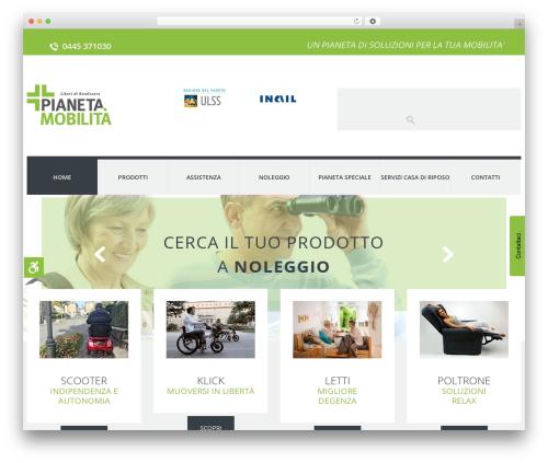Free WordPress Easy Sidebar Menu Widget plugin - pianetamobilita.it