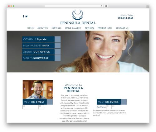 DentalCMO Build (2013) WP template - peninsuladental.com