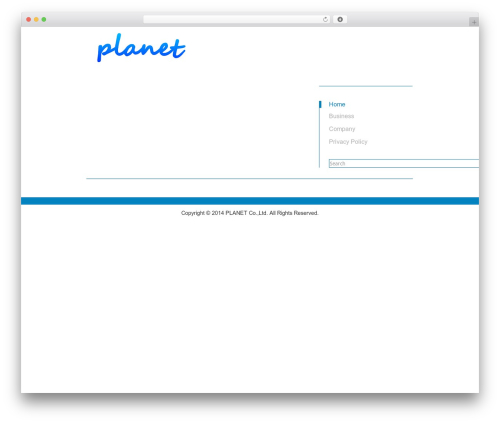 Kasrod WordPress theme - pianeta.co.jp