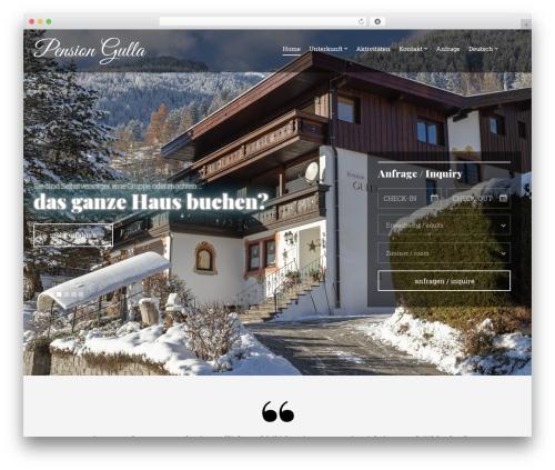 Olympus Inn WordPress theme - pension-gulla.at/wp