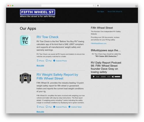 AppifyWP Pro WP template - fifthwheelst.info