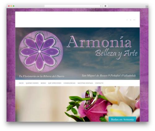Free WordPress Facebook Widget plugin - floristeriaarmonia.es