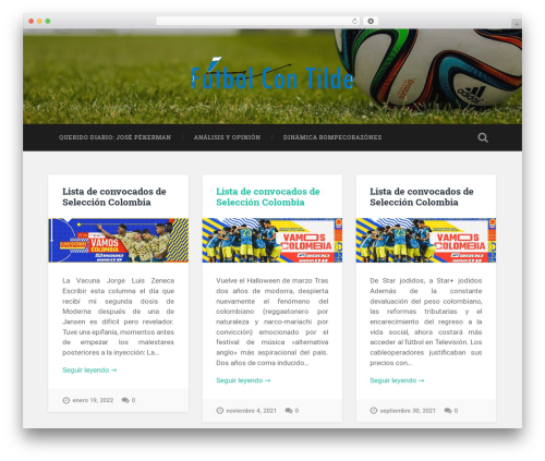Baskerville WordPress template free download - futbolcontilde.com
