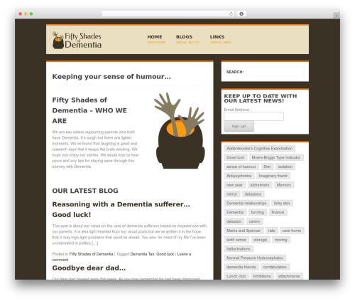 Best WordPress theme Groovy - fifty-shades-of-dementia.info