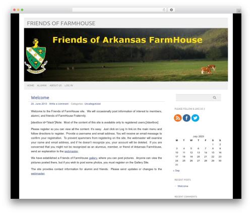Best WordPress theme picolight - friendsoffarmhouse.org