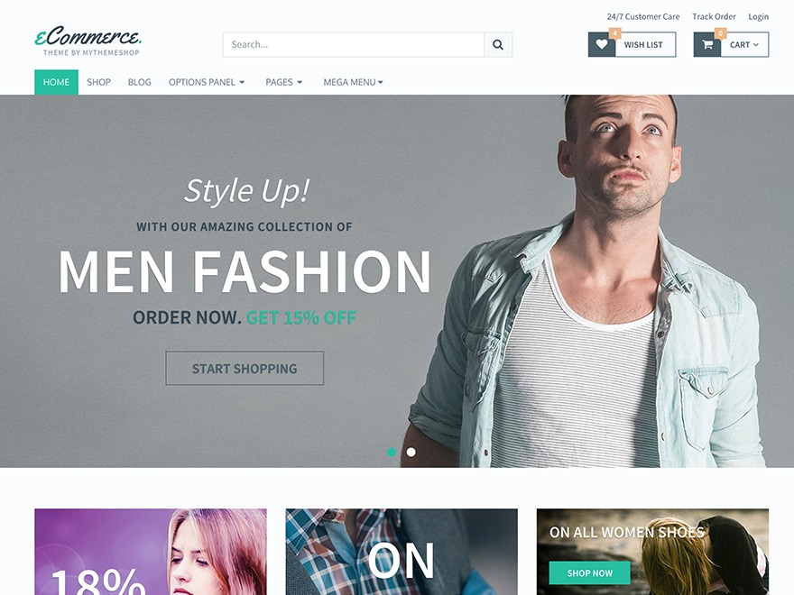 eCommerce by MyThemeShop WordPress ecommerce theme