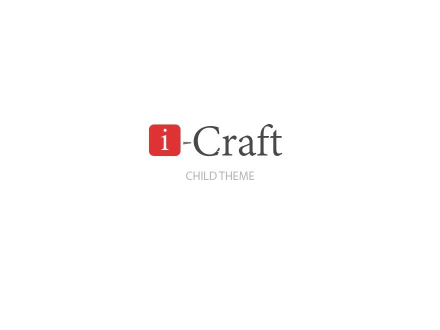 i-craft Child WP theme