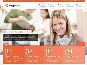 King Power WordPress theme