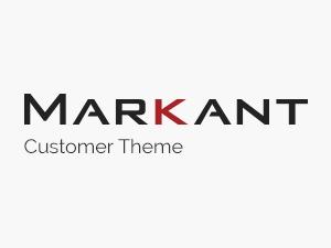 Markant Customer Theme Child WP template