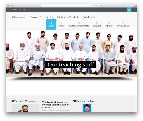 Nictitate best WordPress theme - faranschool.com