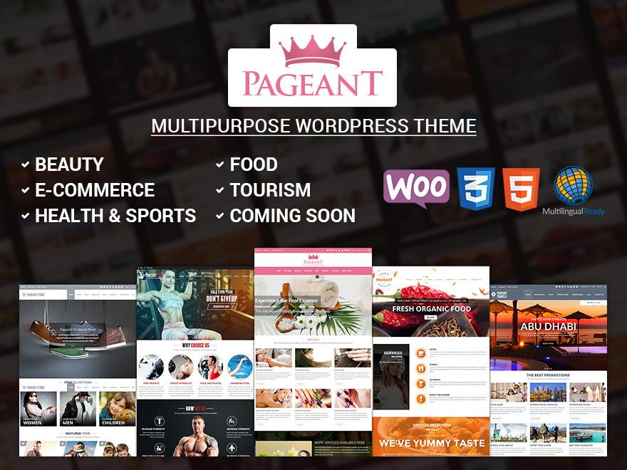 Pageant WordPress Theme WordPress theme