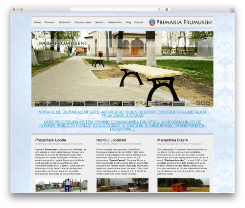 Template WordPress Andromeda - frumuseni.ro