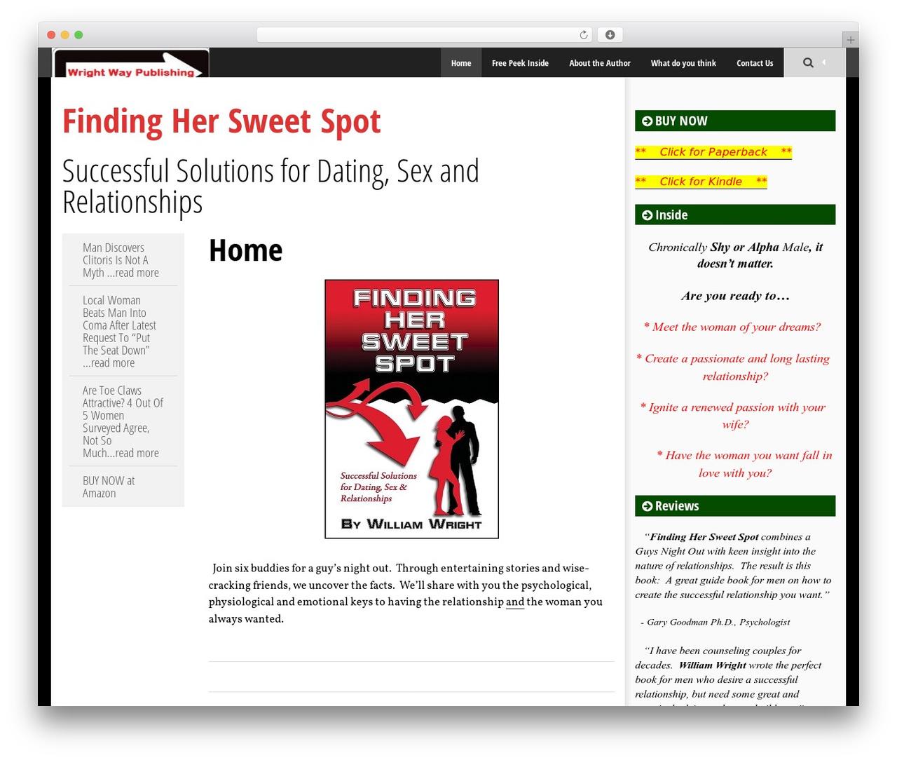 Template WordPress SmartAdapt - findinghersweetspot.com