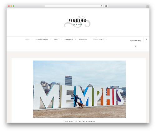 Theme WordPress Dazzling Theme - findingmyom.com
