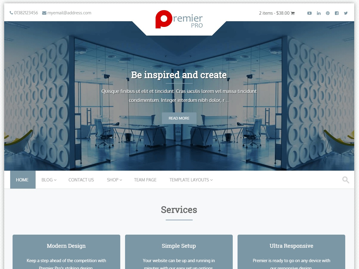 Theme WordPress PremierPro