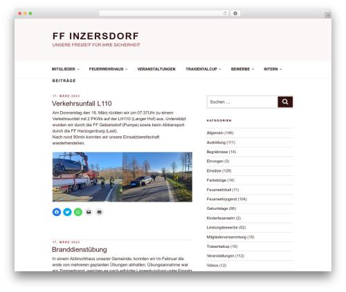 Twenty Seventeen WordPress website template - ff-inzersdorf.at