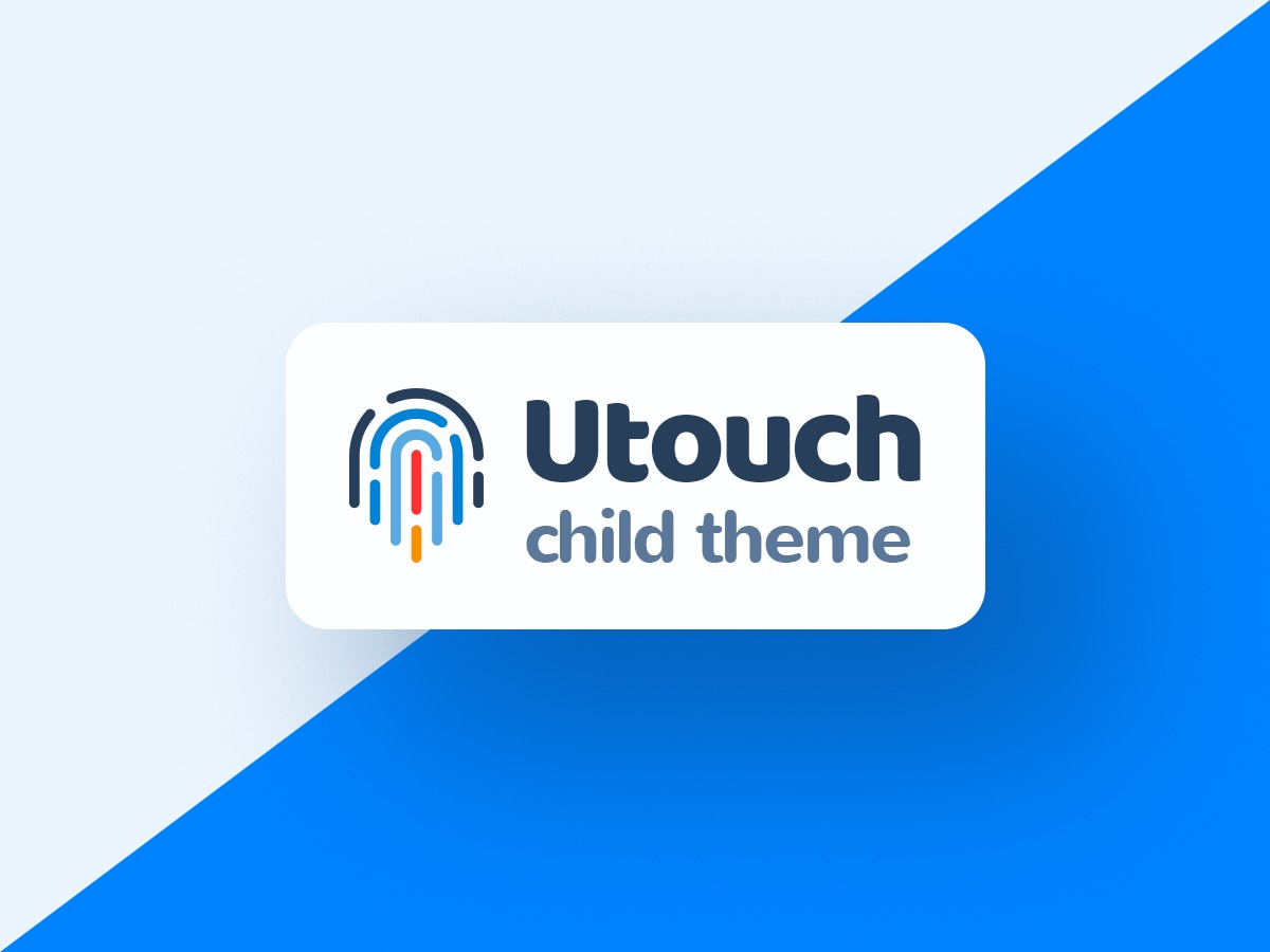 Utouch child Theme business WordPress theme