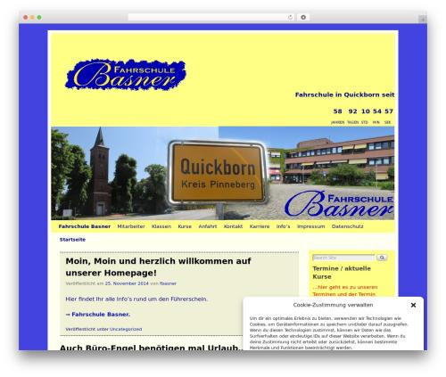 Free WordPress WP Calendar plugin - fahrschule-basner.de