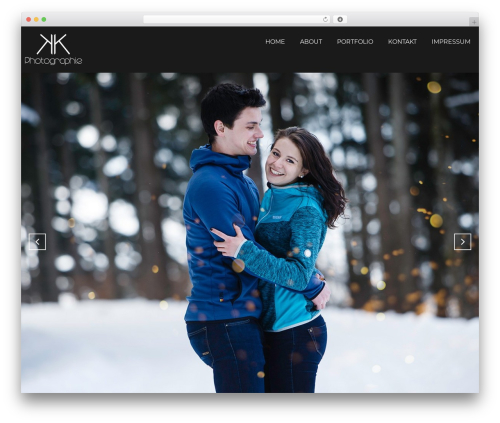 WordPress template Focal - foto-karner.at