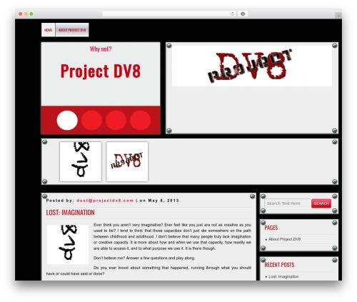 Best WordPress theme DISCUSSION - projectdv8.com/dv8