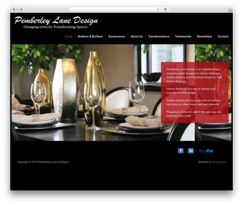 DynamiX WordPress theme - pemberleylanedesign.com