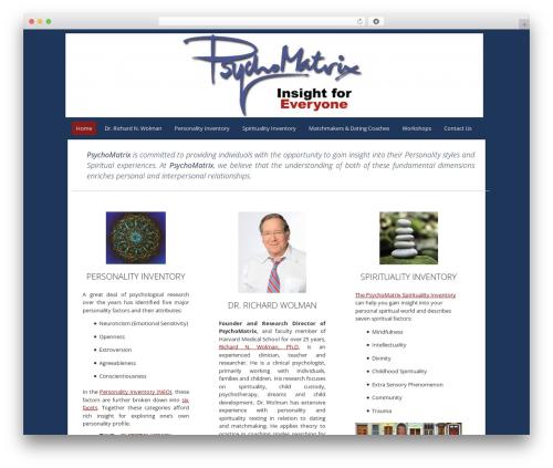 Fruitful template WordPress free - psychomatrix.com