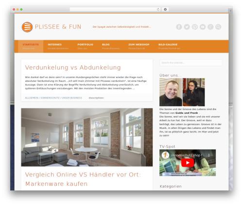 Free WordPress Login With Ajax plugin - plissee-und-fun.de