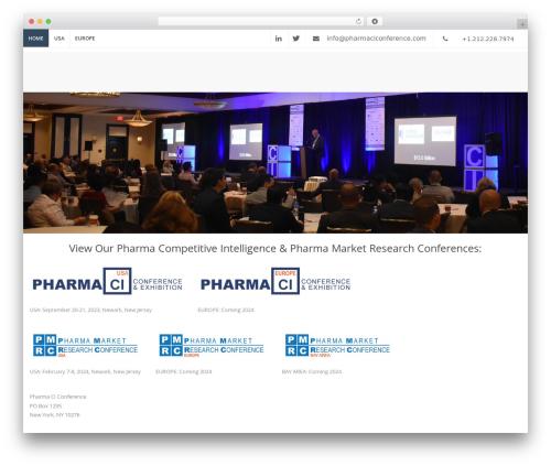 Template WordPress The Keynote - pharmaciconference.com