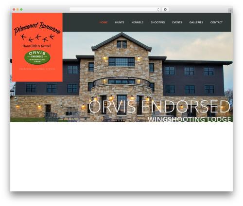 Theme WordPress cherry - pheasantbonanza.com