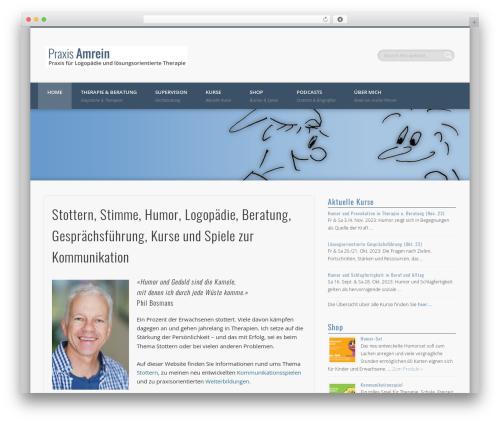 Theme WordPress Pinboard - praxis-amrein.ch