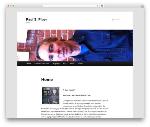Twenty Eleven WordPress theme free download - paulspiper.com