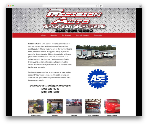 Twenty Thirteen template WordPress free - precisionautoandtowing.com