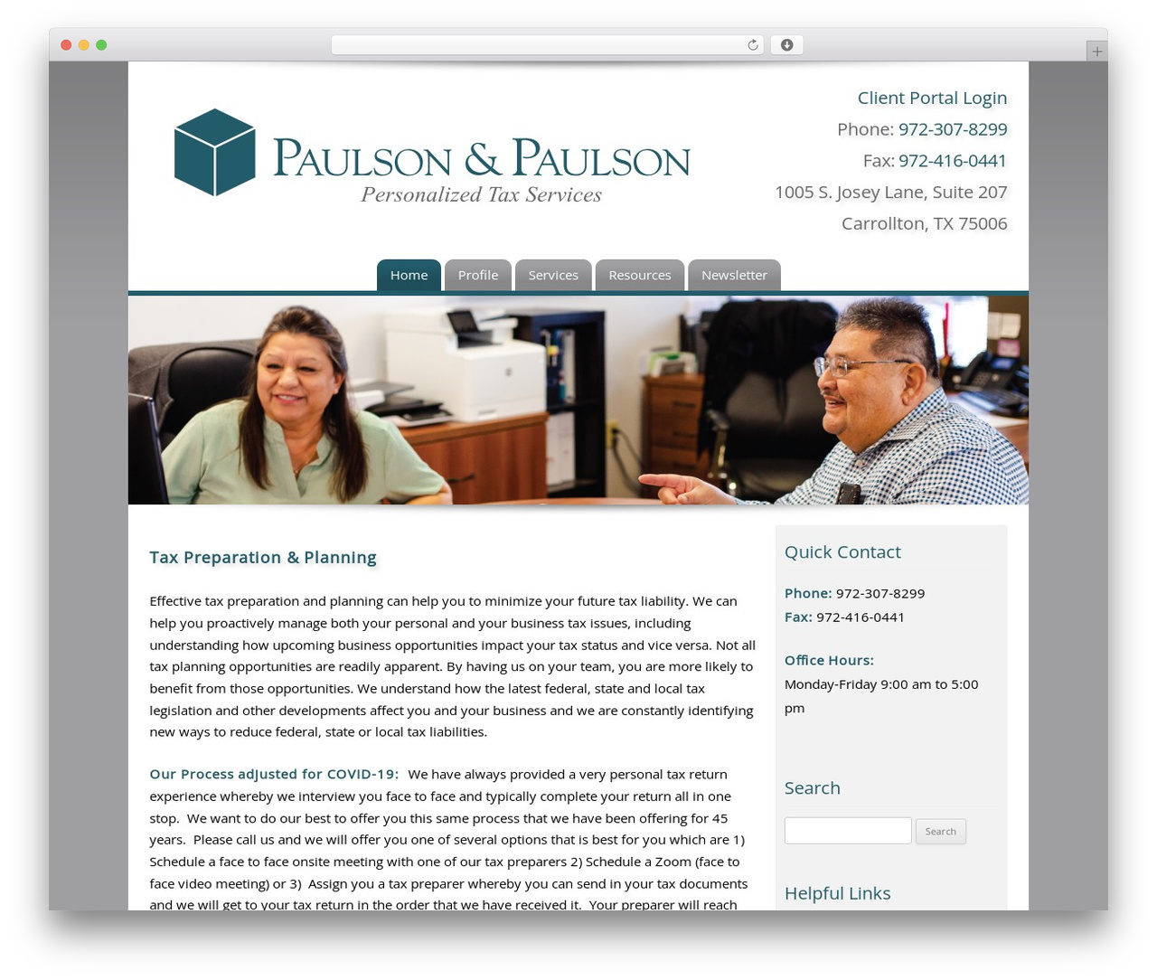 WordPress theme Customized - paulsonandpaulson.net
