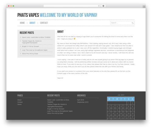 WordPress theme Hannari - phatsvapes.com