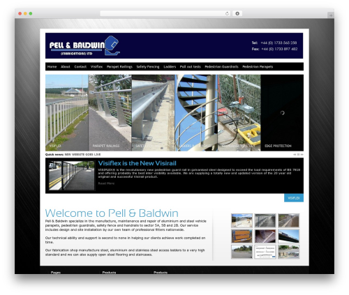 WordPress theme Innovation+Science - pellandbaldwin.co.uk