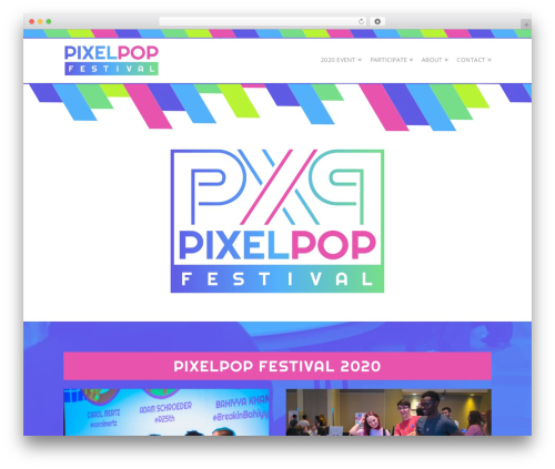 WordPress x-email-mailchimp plugin - pixelpopfestival.com