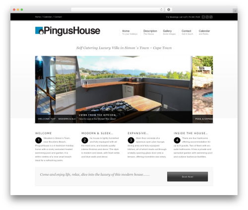 Best WordPress theme Corona - pingushouse.com