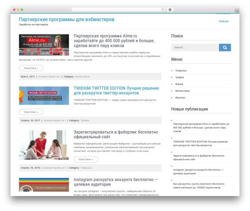 Businessweb Plus WordPress free download - partnerskie-programmy-v-internete.ru