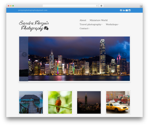 Eclipse Pro 3 garden WordPress theme - perquinphotography.com