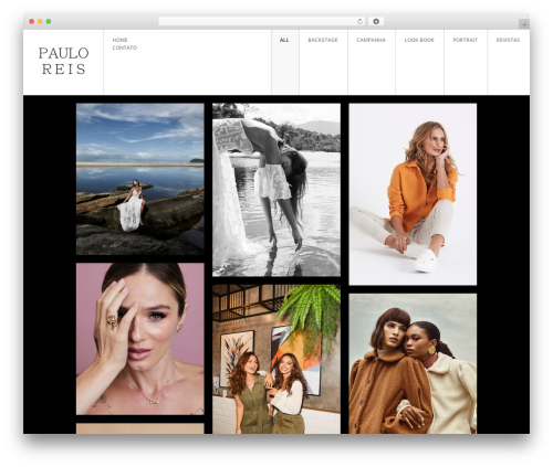 FULLSCREEN WordPress theme - pauloreisphoto.com