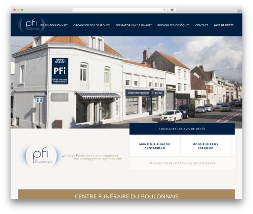 Jupiter top WordPress theme - pfiduboulonnais.fr