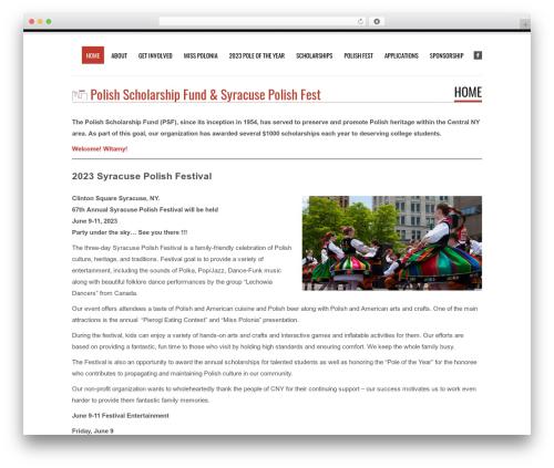 Tesla WordPress template free download - polishscholarship.org