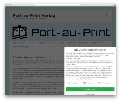 Theme WordPress Catch Base Pro - port-au-print.de