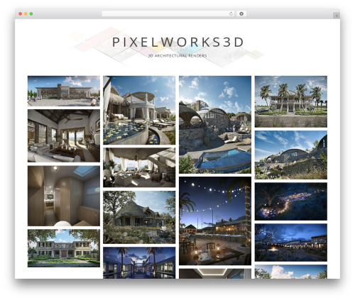 Gridsby Pro WP theme - pixelworks3d.co.za
