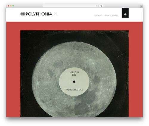 WordPress template Shift_ - polyphonia.pl