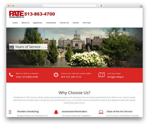 Appointment WordPress free download - pateappliance.com