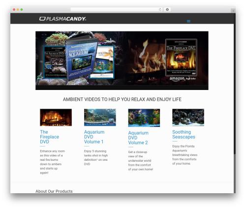 Betheme WordPress theme design - plasmacandy.com