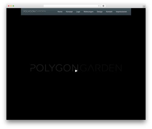 Black Label WordPress theme - polygongarden.com